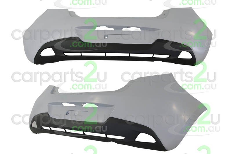 MAZDA MAZDA 2 MAZDA 3 BL  REAR BUMPER - New quality car parts & auto spares online Australia wide with the convenience of shopping from your own home. Carparts 2U Penrith Sydney