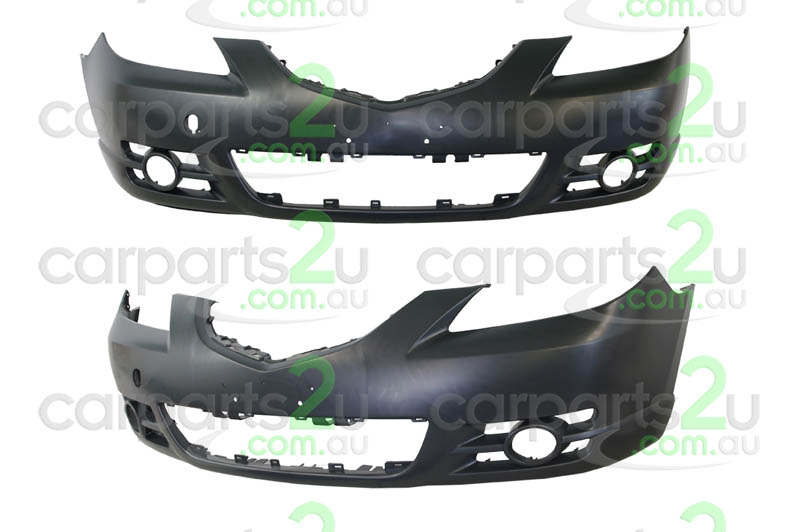 MAZDA MAZDA 3 MAZDA 2 DE  FRONT BUMPER - New quality car parts & auto spares online Australia wide with the convenience of shopping from your own home. Carparts 2U Penrith Sydney