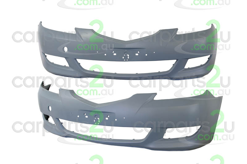 MAZDA MAZDA 3 MAZDA 3 BK  FRONT BUMPER - New quality car parts & auto spares online Australia wide with the convenience of shopping from your own home. Carparts 2U Penrith Sydney