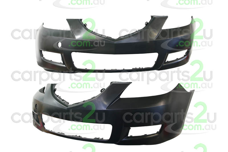 TO SUIT MAZDA MAZDA 3 MAZDA 3 BK  FRONT BUMPER  NA - BRAND NEW FRONT BUMPER TO SUIT STANDARD MAZDA 3 BK 4 DOOR SEDAN MODELS ONLY BETWEEN (06/2006-04/2009)