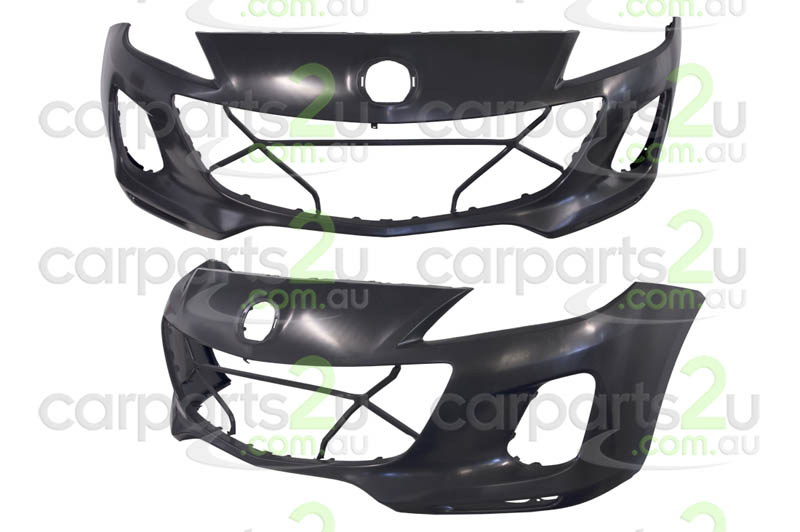 MAZDA MAZDA 3 MAZDA 3 BL  FRONT BUMPER - New quality car parts & auto spares online Australia wide with the convenience of shopping from your own home. Carparts 2U Penrith Sydney