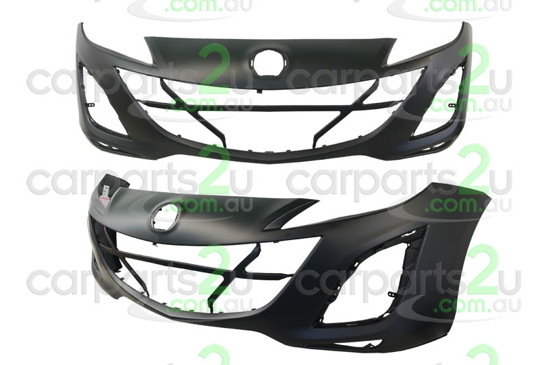 TO SUIT MAZDA MAZDA 3 MAZDA 3 BL  FRONT BUMPER  NA - BRAND NEW FRONT BUMPER TO SUIT MAZDA 3 SP25 SERIES 1 (04/2009-09/2011)