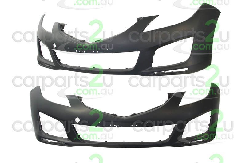 MAZDA MAZDA 6  MAZDA 6 GH  FRONT BUMPER - New quality car parts & auto spares online Australia wide with the convenience of shopping from your own home. Carparts 2U Penrith Sydney