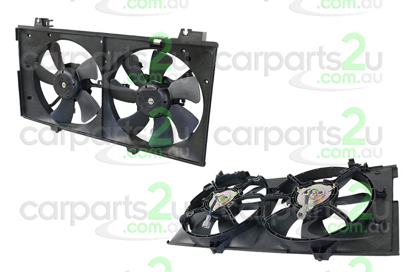 MAZDA MAZDA 6  MAZDA 3 BL  RADIATOR FAN ASSEMBLY - New quality car parts & auto spares online Australia wide with the convenience of shopping from your own home. Carparts 2U Penrith Sydney