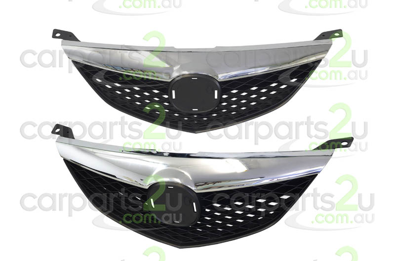 MAZDA MAZDA 6  MAZDA 3 BK  GRILLE - New quality car parts & auto spares online Australia wide with the convenience of shopping from your own home. Carparts 2U Penrith Sydney