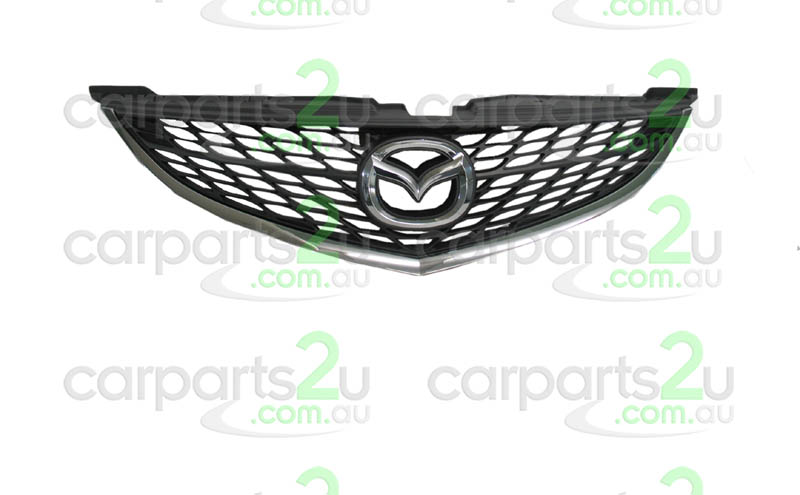 MAZDA MAZDA 6  MAZDA 6 GG/GY  GRILLE - New quality car parts & auto spares online Australia wide with the convenience of shopping from your own home. Carparts 2U Penrith Sydney