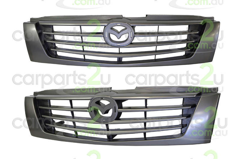 MAZDA B SERIES UTE / BRAVO B SERIES UTE UF  GRILLE - New quality car parts & auto spares online Australia wide with the convenience of shopping from your own home. Carparts 2U Penrith Sydney