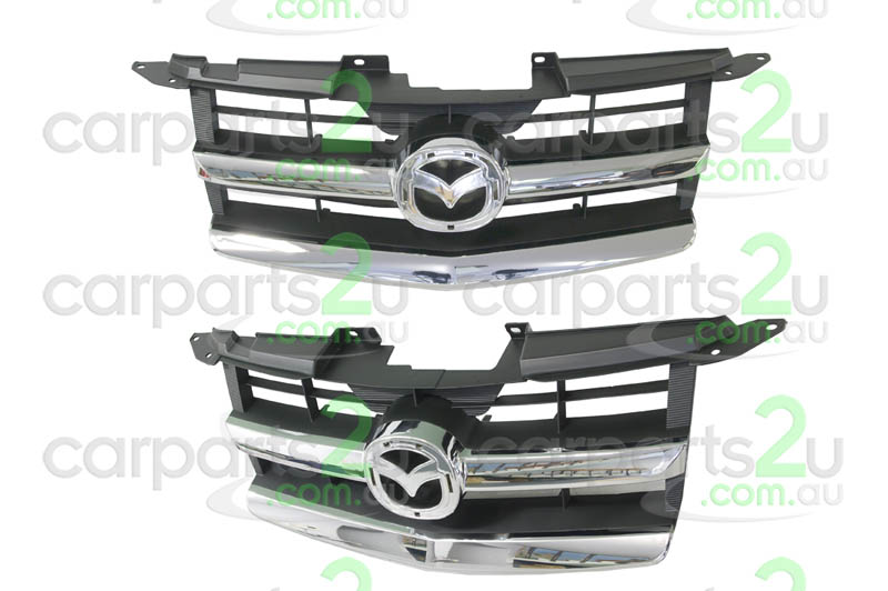 MAZDA BT-50 BT-50 UTE  GRILLE - New quality car parts & auto spares online Australia wide with the convenience of shopping from your own home. Carparts 2U Penrith Sydney