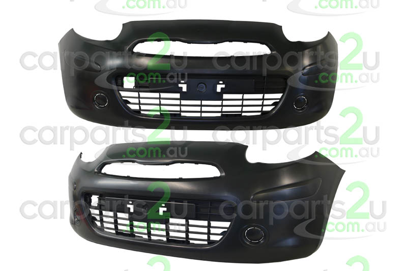 TO SUIT NISSAN MICRA K13  FRONT BUMPER  NA - BRAND NEW FRONT BUMPER TO SUIT NISSAN MICRA K13 ST/ST-L MODELS WITHOUT FOG LIGHT TYPE (09/2010-4/2015)