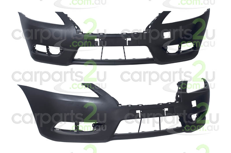 NISSAN PULSAR N16 HATCH  FRONT BUMPER - New quality car parts & auto spares online Australia wide with the convenience of shopping from your own home. Carparts 2U Penrith Sydney