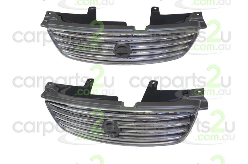 NISSAN PULSAR N16 SEDAN  GRILLE - New quality car parts & auto spares online Australia wide with the convenience of shopping from your own home. Carparts 2U Penrith Sydney