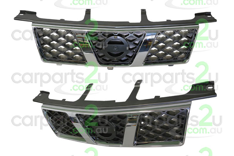 NISSAN X-TRAIL C11  GRILLE - New quality car parts & auto spares online Australia wide with the convenience of shopping from your own home. Carparts 2U Penrith Sydney
