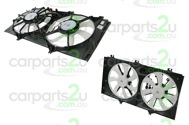 TOYOTA AURION HYBRID AV50  RADIATOR FAN ASSEMBLY - New quality car parts & auto spares online Australia wide with the convenience of shopping from your own home. Carparts 2U Penrith Sydney