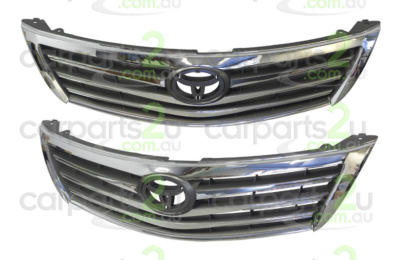 TOYOTA AURION ZRE152/ZRE153 SEDAN  GRILLE - New quality car parts & auto spares online Australia wide with the convenience of shopping from your own home. Carparts 2U Penrith Sydney