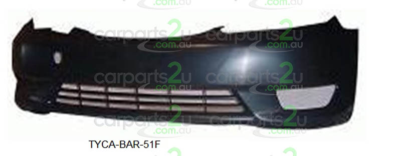 TOYOTA CAMRY ACV36 / MCV36  FRONT BUMPER - New quality car parts & auto spares online Australia wide with the convenience of shopping from your own home. Carparts 2U Penrith Sydney