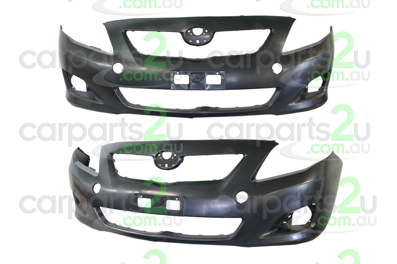 TOYOTA COROLLA ZRE152/ZRE153 SEDAN  FRONT BUMPER - New quality car parts & auto spares online Australia wide with the convenience of shopping from your own home. Carparts 2U Penrith Sydney