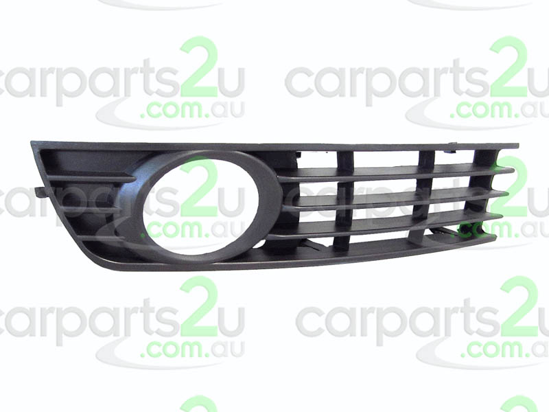 AUDI A4  FRONT BAR GRILLE - New quality car parts & auto spares online Australia wide with the convenience of shopping from your own home. Carparts 2U Penrith Sydney