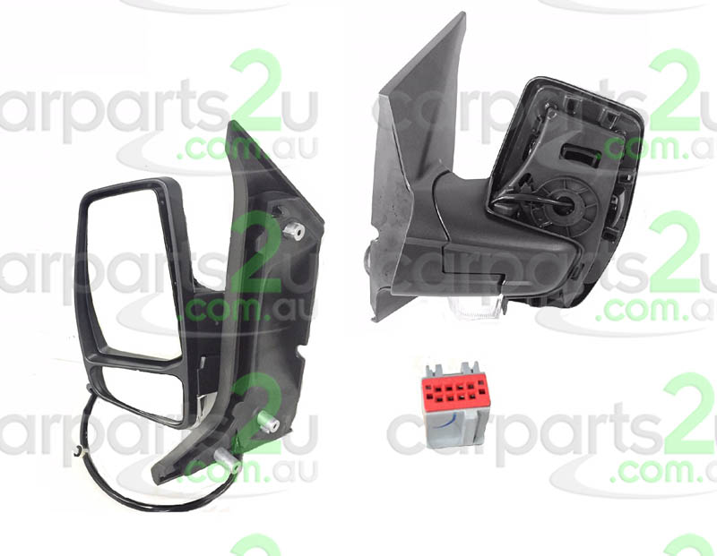 FORD TRANSIT VAN TERRITORY SX/SY  FRONT DOOR MIRROR - New quality car parts & auto spares online Australia wide with the convenience of shopping from your own home. Carparts 2U Penrith Sydney