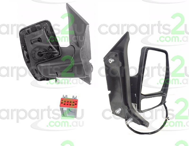 FORD TRANSIT VAN TRANSIT VAN VN CUSTOM  FRONT DOOR MIRROR - New quality car parts & auto spares online Australia wide with the convenience of shopping from your own home. Carparts 2U Penrith Sydney