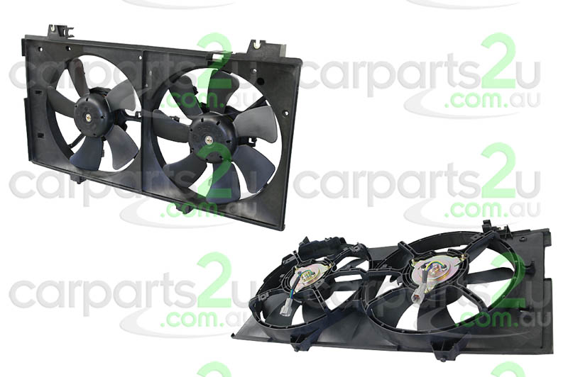 MAZDA MAZDA 6 BT-50 UTE  RADIATOR FAN ASSEMBLY - New quality car parts & auto spares online Australia wide with the convenience of shopping from your own home. Carparts 2U Penrith Sydney