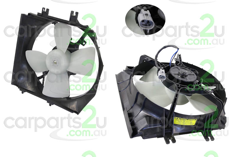 MAZDA 323 MAZDA 6 GG/GY  RADIATOR FAN ASSEMBLY - New quality car parts & auto spares online Australia wide with the convenience of shopping from your own home. Carparts 2U Penrith Sydney