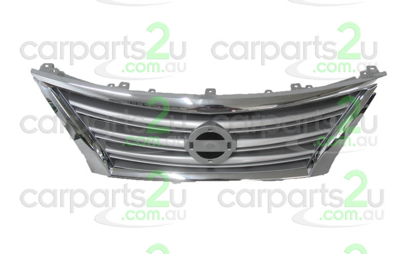 NISSAN PULSAR B17 SEDAN  GRILLE - New quality car parts & auto spares online Australia wide with the convenience of shopping from your own home. Carparts 2U Penrith Sydney
