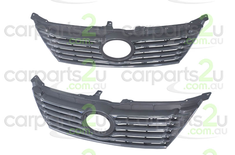 TOYOTA AURION GSV40  GRILLE - New quality car parts & auto spares online Australia wide with the convenience of shopping from your own home. Carparts 2U Penrith Sydney