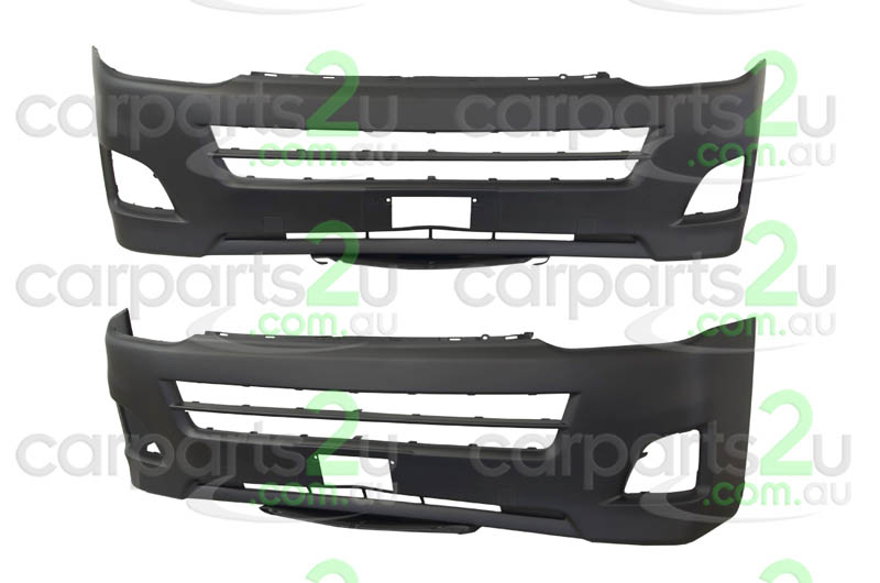 TOYOTA HIACE ZRE172 SEDAN  FRONT BUMPER - New quality car parts & auto spares online Australia wide with the convenience of shopping from your own home. Carparts 2U Penrith Sydney