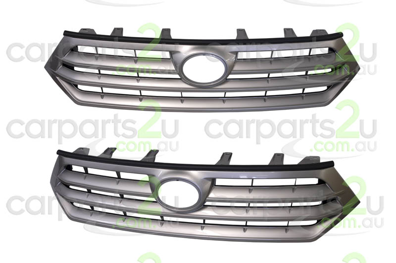 TOYOTA KLUGER KLUGER MCU28  GRILLE - New quality car parts & auto spares online Australia wide with the convenience of shopping from your own home. Carparts 2U Penrith Sydney