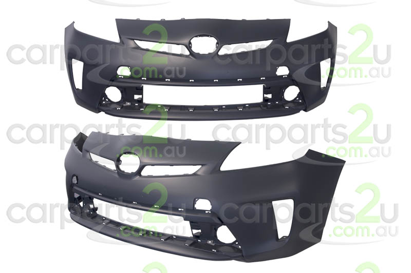 TOYOTA PRIUS PRIUS ZVW30 HATCH  FRONT BUMPER - New quality car parts & auto spares online Australia wide with the convenience of shopping from your own home. Carparts 2U Penrith Sydney