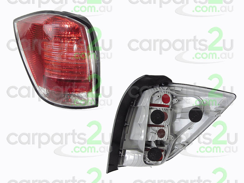 TAIL LIGHT LEFT LEFT HAND SIDE TAIL LIGHT TO SUIT HOLDEN ASTRA AH WAGON MODELS ONLY BETWEEN 7/2005-8/2009