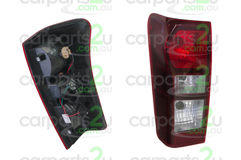 ISUZU D-MAX  TAIL LIGHT - New quality car parts & auto spares online Australia wide with the convenience of shopping from your own home. Carparts 2U Penrith Sydney