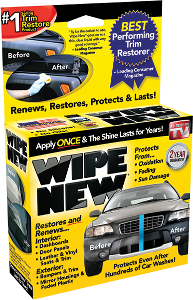 WIPE NEW Car Restore Product. The world's strongest solution for restoring & protecting weathered surfaces. Protects from oxidisation, fading & sun damage. Buy Now from Carparts 2U Penrith Sydney Online Store
